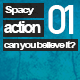 Spacey Action - AudioJungle Item for Sale