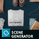 T-shirt Mockups and Packages - Hero Images Scene Generator