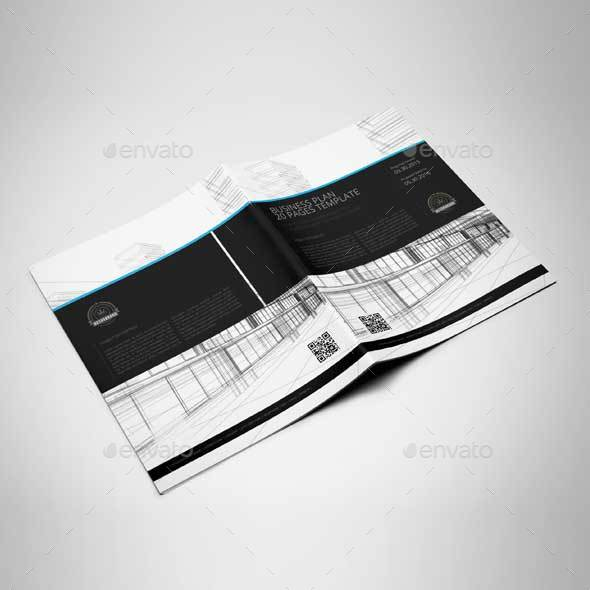 Pages Business Plan Template US Letter By Keboto GraphicRiver - Pages business plan template