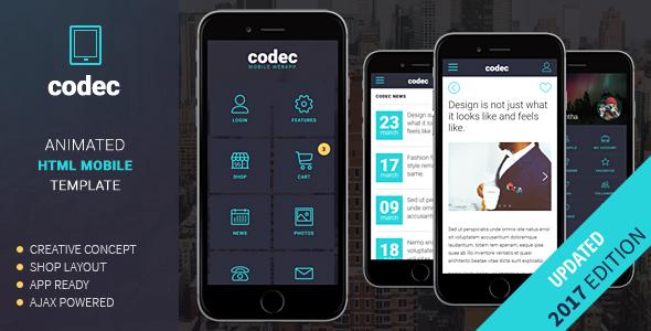 Codec mobile html template by sindevo themeforest screenshotsscreenshot1g pronofoot35fo Images