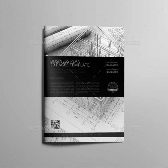 20 pages business plan template by keboto graphicriver 20 pages business plan template kfea 3g flashek Image collections