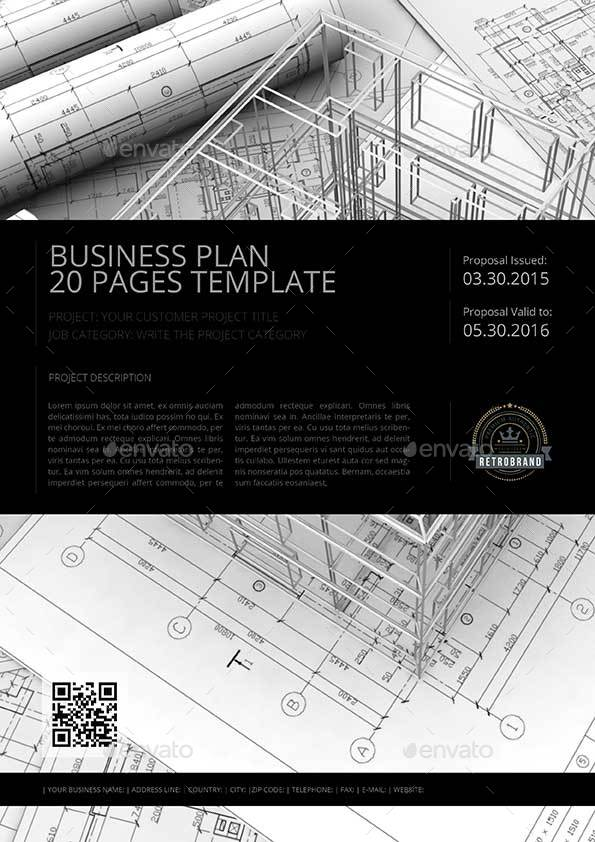 Pages Business Plan Template By Keboto GraphicRiver - Pages business plan template