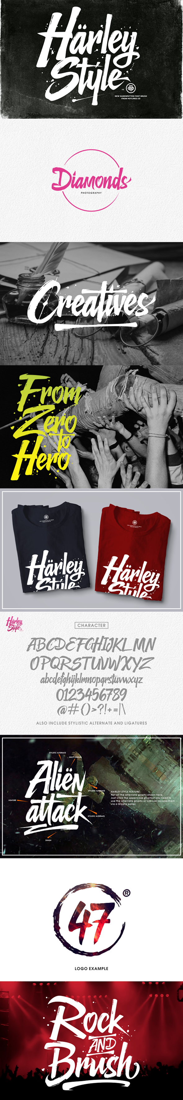 Harley Style - Fonts