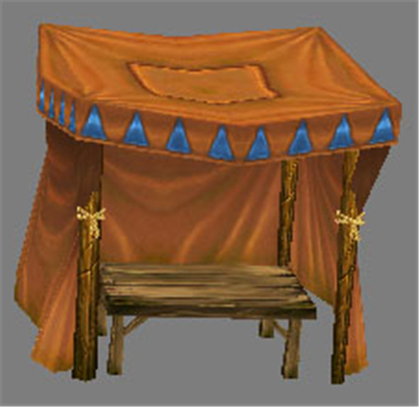 Game Model Arena - stall 003 01 - 3DOcean Item for Sale
