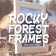 Rocky Forest Frames - VideoHive Item for Sale