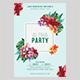 Aloha Party Flyer Template