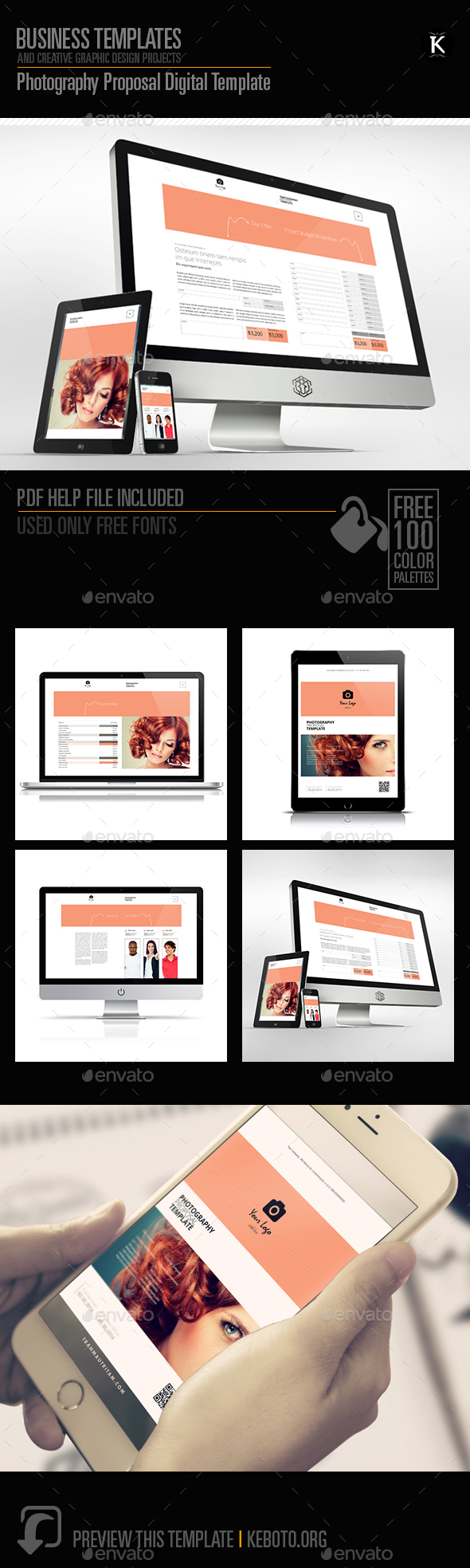 Photography Proposal Digital Template - ePublishing
