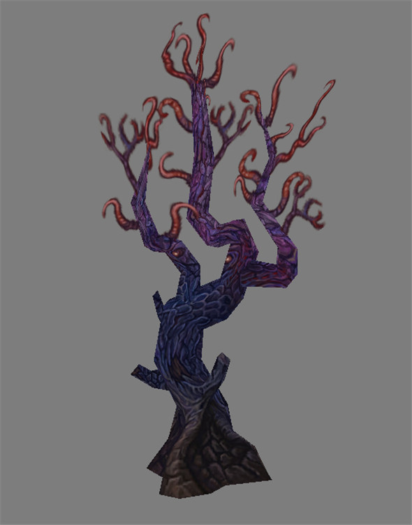 Game Model Arena - Tree 01 - 3DOcean Item for Sale