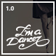 I am Dancer - HTML Template Bootstrap