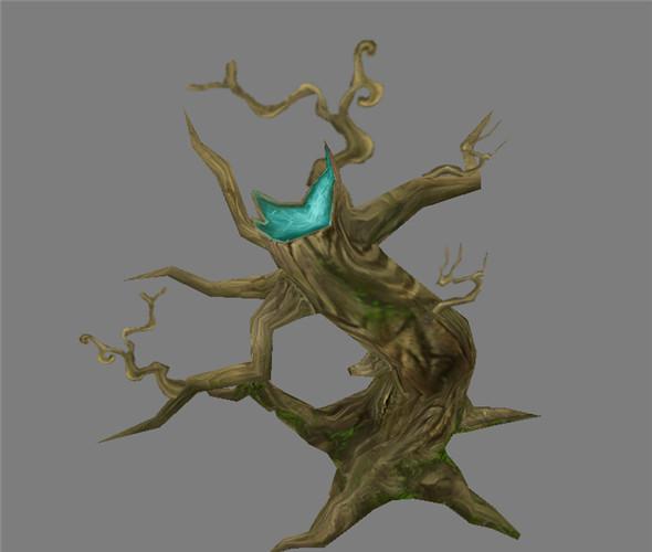 Game Model Arena - Variation grass flowers trees 02 01 - 3DOcean Item for Sale