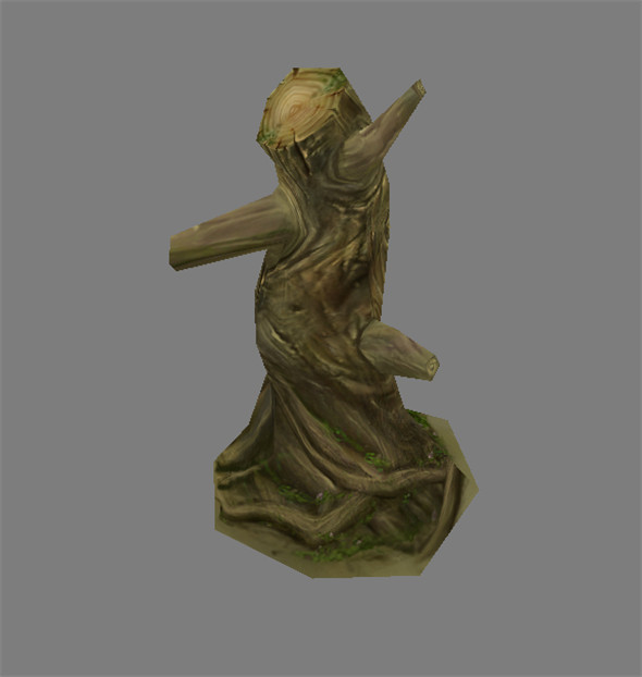 Game Model Arena - Variation grass flowers trees 04 01 - 3DOcean Item for Sale