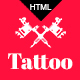 Tattoo - Tattoo Studio HTML Template - ThemeForest Item for Sale