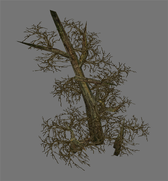 Game Model Arena - Variation grass flowers trees 08 01 - 3DOcean Item for Sale