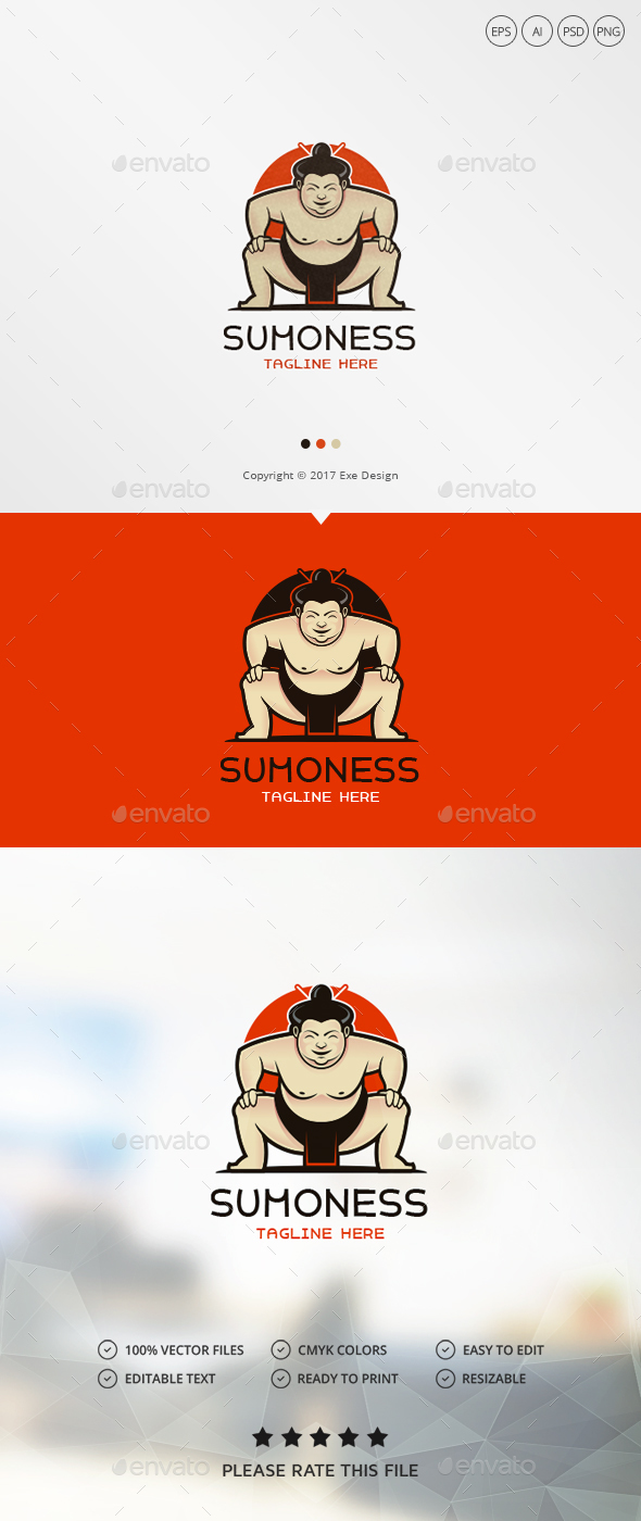 Sumo Logo - Humans Logo Templates