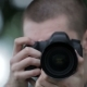 Young Man Taking Pictures  Professional Digital Slr Camera - VideoHive Item for Sale