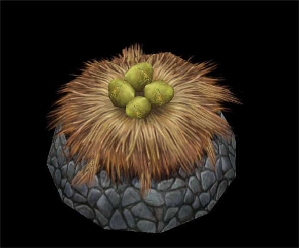 Game Model Arena - wetland area - the fish eggs in the nest -01 01 - 3DOcean Item for Sale