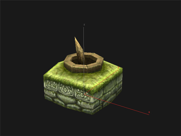 Game Model Arena - Wetland Area Ishii 01 01 - 3DOcean Item for Sale