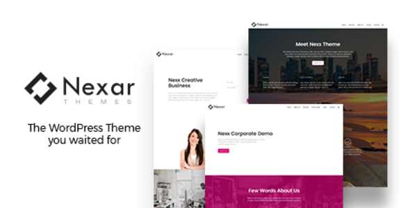 Nexx – Multi Purpose Business WordPress Theme