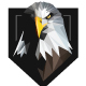 Triangulation Eagle Crest Logo - GraphicRiver Item for Sale