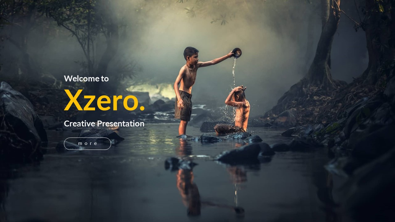 Xzero creative powerpoint template by bluestack graphicriver preview image setslide1 toneelgroepblik Choice Image