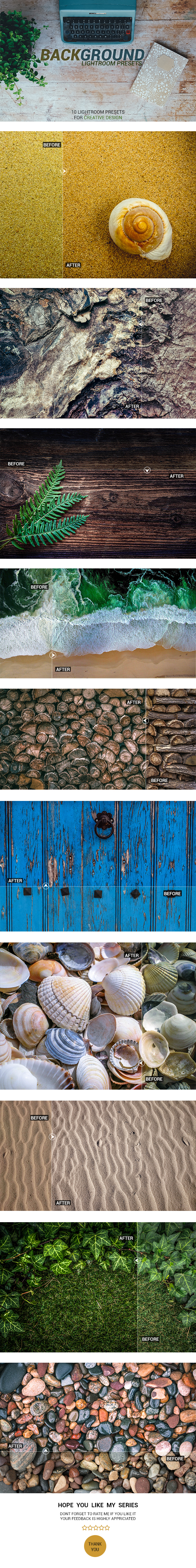 Background Lightroom Presets - Lightroom Presets Add-ons