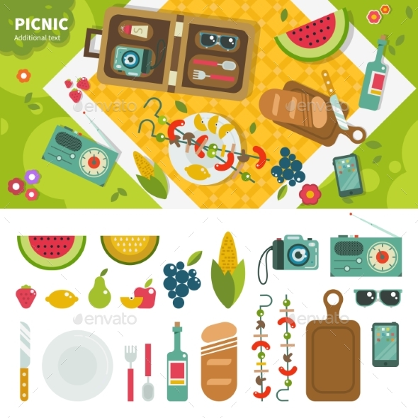 Picnic in the Park - Landscapes Nature