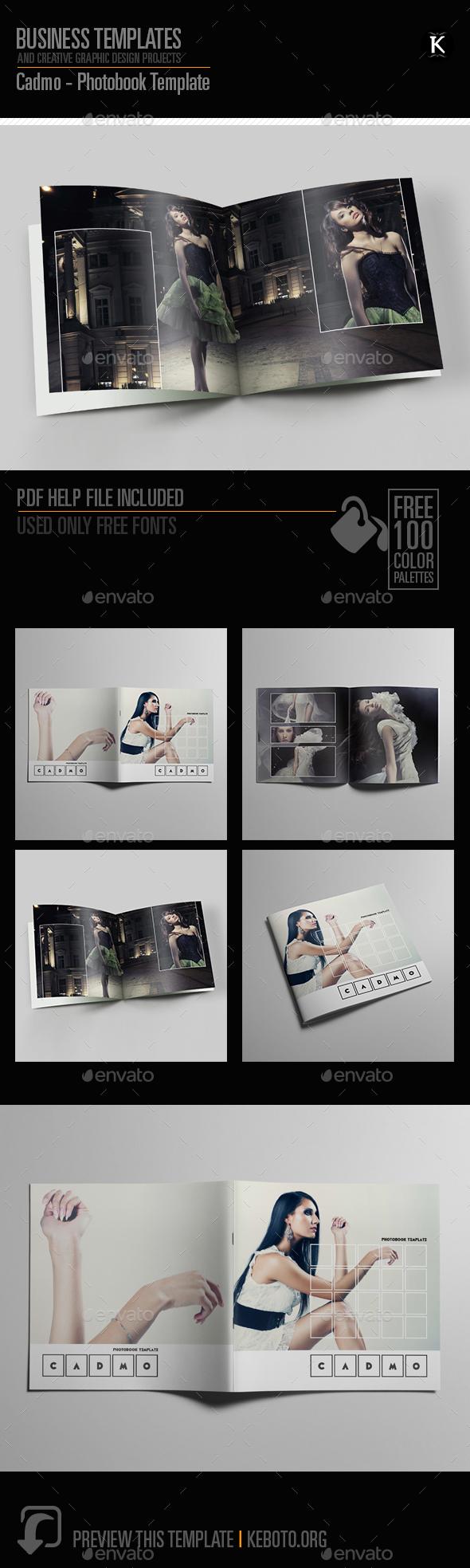Cadmo - Photobook Template - Photo Albums Print Templates
