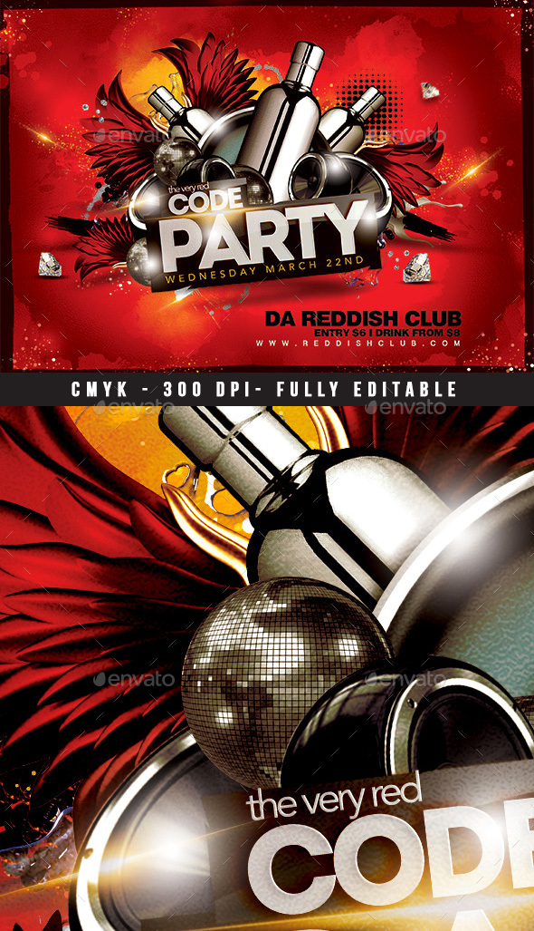 Red Code Party - Clubs & Parties Events