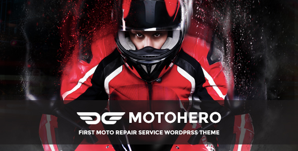 MotoHero - Motorcycle Repair & Custom service Business Theme - Business Corporate
