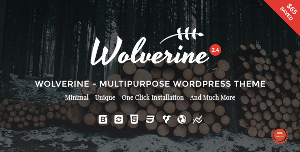 Wolverine - Responsive Multi-Purpose Theme - Business Corporate