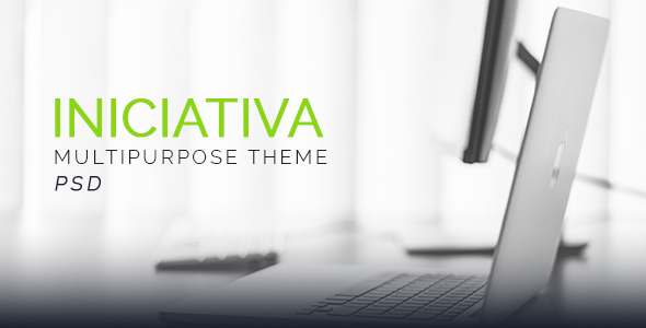 Iniciativa - Corporate PSD Templates