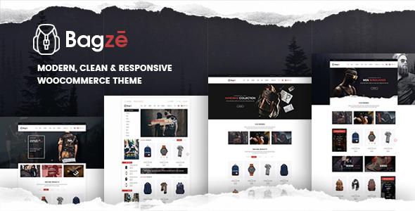 Bagze - Bag Shop WooCommerce WordPress Theme - WooCommerce eCommerce