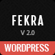 Fekra – Responsive Multi Page/One Page WordPress Theme