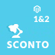 Sconto - Premium Magento 2 and 1 Theme Nulled