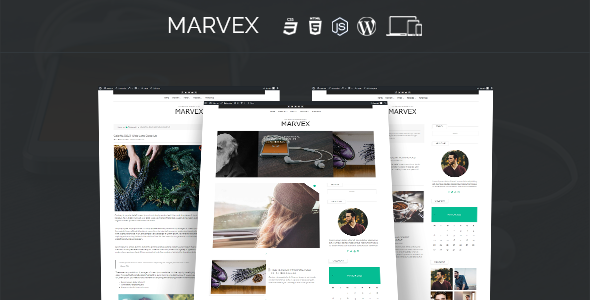 Marvex – Responsive WordPress Blog Theme