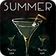 Summer Drinks Flyer - GraphicRiver Item for Sale