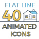 40 Smart Home Icons Set - VideoHive Item for Sale