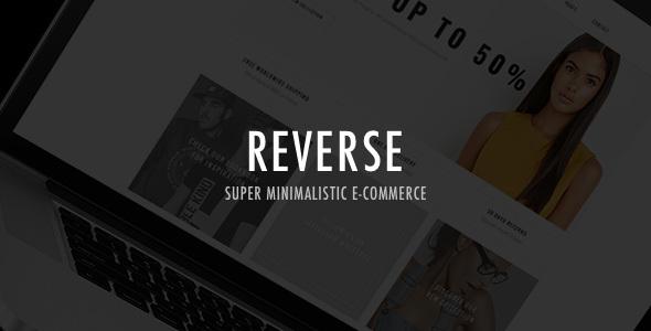 Reverse - WooCommerce Shopping Theme - WooCommerce eCommerce