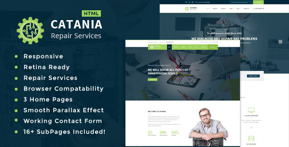 Catania – Computer, Mobile, Electronics and Phone Repair HTML Template