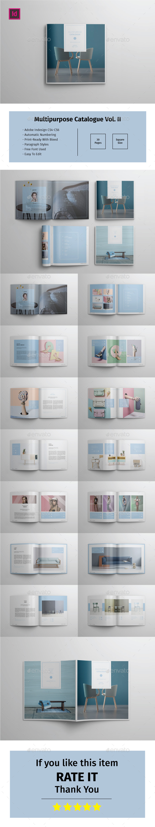 Multipurpose Square Catalogue Vol.II - Catalogs Brochures