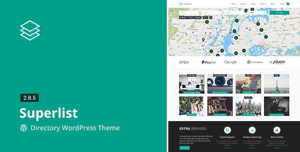 Superlist - Directory WordPress Theme - Directory & Listings Corporate