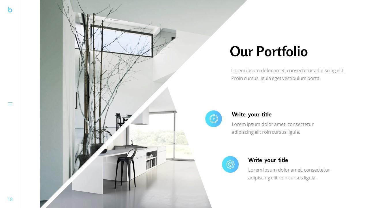 Business - Portfolio Powerpoint Template