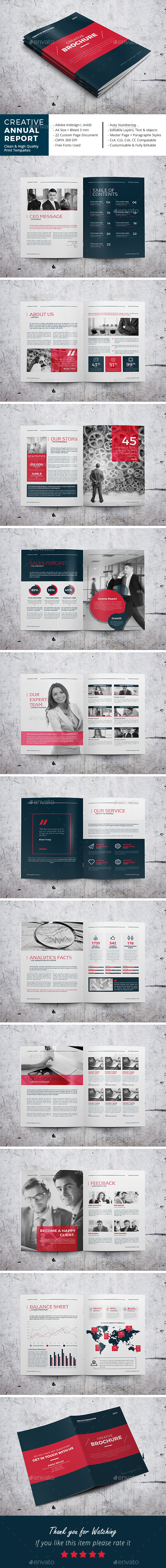 Creative Annual Report - Corporate Brochures
