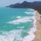 Aerial View of Amazing Beautiful Island in Thailand. Clear Water and Waves. - VideoHive Item for Sale