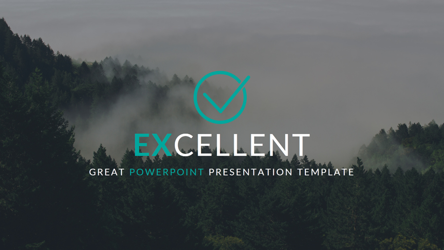 excellent powerpoint presentation template by shakersign