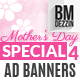 Mothers Day Sale Ad Banners - GraphicRiver Item for Sale