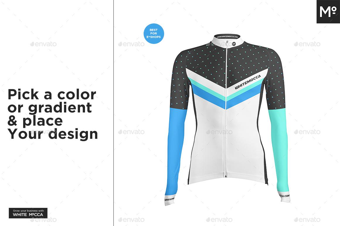 Long Cycling Jersey Mock-up - Miscellaneous Apparel. 01.jpg 02.jpg 03.jpg  ... 65f487ac0