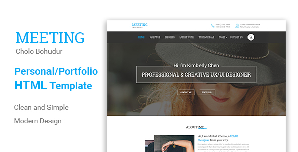 Meeting Html5 Responsive Template