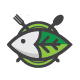 Green Fish Logo - GraphicRiver Item for Sale