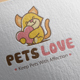 Pet Love Logo - GraphicRiver Item for Sale
